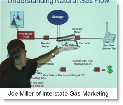 Joe Miller, Marketing VP of Interstate Gas