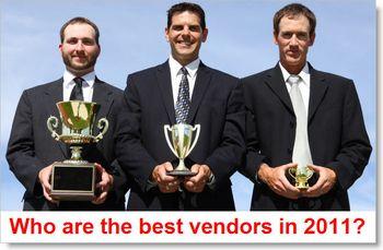 Best-2011-vendors