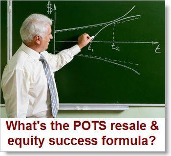 Pots-resale-equity-program-success-formula