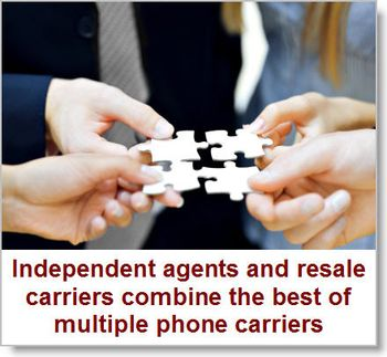Independent-agents-and-resale-carriers-combine-phone-carrier-networks