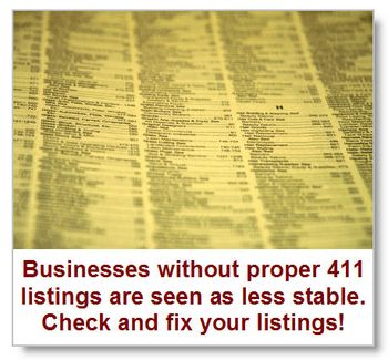 Check-your-business-411-listings